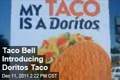 Taco Bell Introduces Nacho Cheese Dorito-Flavored Taco