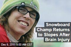 Snowboarder Kevin Pearce Returns to Slopes After Brain Injury