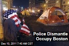 Boston Police Evict Occupy Protesters From Dewey Square