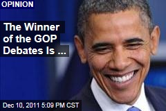 Republican Debates Make President Obama the Winner