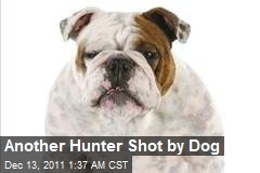 Another Hunter Shot by Dog