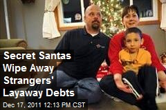 Secret Santas Wipe Away Strangers' Layaway Debts
