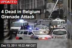 2 Dead in Belgium Grenade Attack