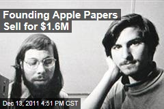 1976 Contract Founding Apple Sells for $1.6 Million at Auction