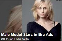 Androgynous Male Model Andrej Pejic Stars in Push-Up Bra Ads