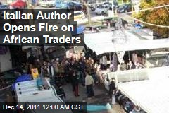 Italian Author Gianluca Casseri Opens Fire On African Traders