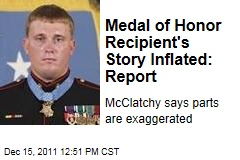 McClatchy Investigation Says Medal of Honor Recipient Dakota Meyer Exaggerated Parts of His Story
