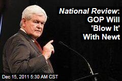 Don't Nominate New Gingrich: National Review