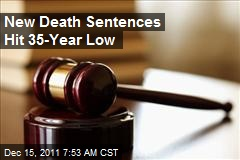 New Death Sentences Hit 35-Year Low