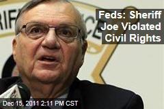 Justice Department: Sheriff Joe Arpaio Violated Latinos' Civil Rights