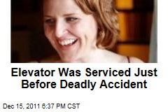 Elevator Was Serviced Just Before Accident That Killed Suzanne Hart in Manhattan