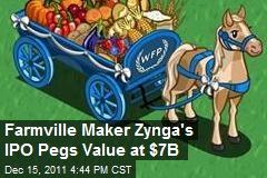 Farmville Maker Zynga's IPO Pegs Value at $7B