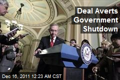 Deal Averts Government Shutdown