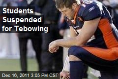 Students Suspended for Tebowing