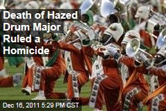 Death of Hazed Florida A&M Drum Major Robert Champion Ruled a Homicide