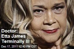 Etta James Terminally Ill With Leukemia: Doctor