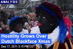 Hostility Grows Over Dutch Christmas 'Slave' Called Black Pete