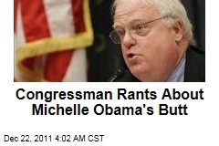Rep. Jim Sensenbrenner Rants About Michelle Obama's Butt
