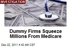 Millions Siphoned From Medicaid by Fake Firms