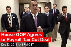 Deal Near on Payroll Tax Cut