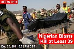 Nigeria Church Bombings Kill at Least 10