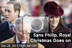 Sans Philip, Royal Christmas Goes on