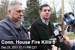 Stamford, Conn., House Fire Kills 5 on Christmas Day