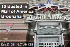 Mall of America Fight Leads to 10 Arrests