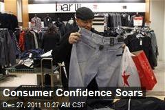 Consumer Confidence Soars