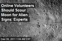 Army of Volunteers Should 'Scour' Moon for Alien Signs: Experts