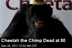 Cheeta the Chimp Dead