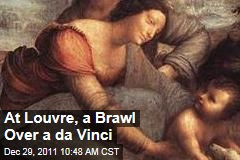 At Louvre, a Battle Over the Cleaning of a Leonardo da Vinci Painting