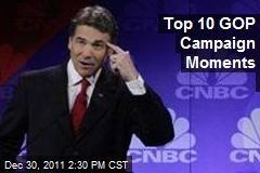 Top 10 GOP Campaign Moments