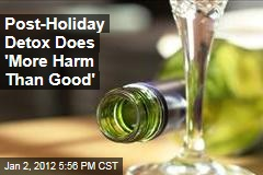 Post-Holiday Alcohol Detox Can Ultimately Harm the Liver: British Doctors