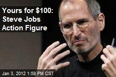 Yours for $100: Steve Jobs Action Figure