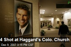 4 Shot at Haggard's Colo. Church