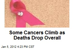 Some Cancers Climb as Deaths Drop Overall