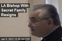 LA Bishop With Secret Family Resigns