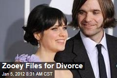 Zooey Deschanel Files for Divorce From Ben Gibbard, Reveals Financial Situation in the Process