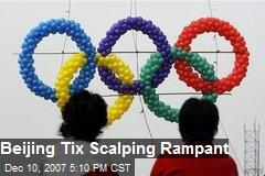 Beijing Tix Scalping Rampant
