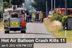 Hot Air Balloon Crash in New Zealand Kills 11