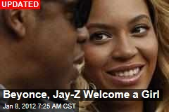 Ivy Blue Carter: Beyonce, Jay-Z Welcome Baby Girl