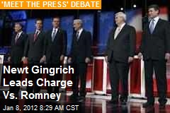 Gingrich Swipes at Romney