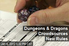 Dungeons & Dragons Crowdsources New Rules