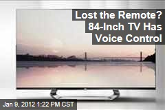 Consumer Electronics Show: LG's 84-Inch TV Has Voice Control