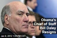 William Daley Resigns as White House Chief of Staff; Budget Director Jack Lew Will Replace Him