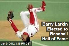 Former Cincinnati Reds Shortstop Barry Larkin Elected to Baseball Hall of Fame