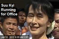 Suu Kyi Running for Office