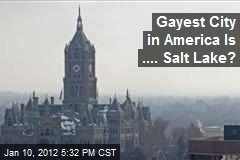 Gayest City in America Is .... Salt Lake?