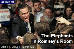 The Elephants in Romney's Room